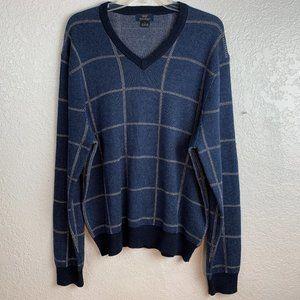 Brooks Brothers Cotton Cashmere V-Neck Sweater